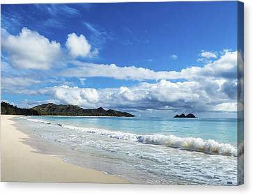 Waimanalo And Bellows Beach 1 Canvas Print