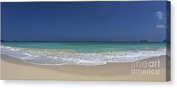 Waimanalo Beach Canvas Print by Anthony Calleja