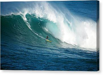 Waimea Bay Hawaii Canvas Print by Kevin Smith