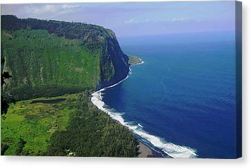 Waipio Valley Canvas Print by Pamela Walton