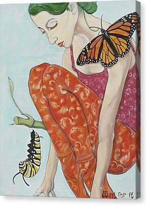Unconscious Canvas Print - Wait For It by Darlene Graeser