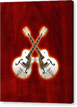 Waite Gretsch Canvas Print by Doron Mafdoos