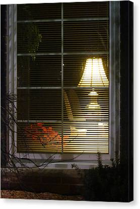 Waiting At The Window Canvas Print by Guy Ricketts