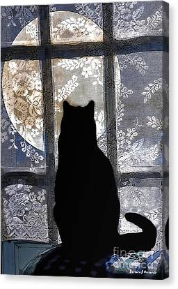 Waiting Canvas Print by Barbara D Richards