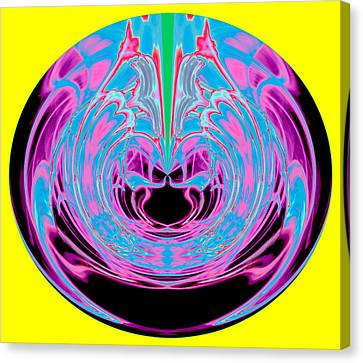 Order From Disorder Canvas Print - Waiting - Failed Patience Orb 2013 by James Warren