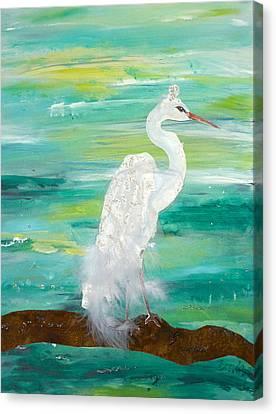 Waiting For Him Canvas Print by Brenda Ruark