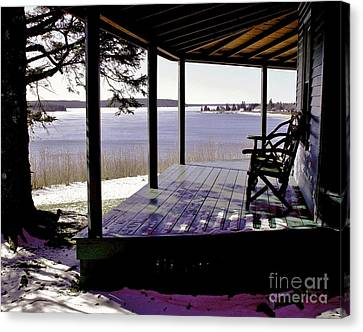 Waiting For Spring 2 Canvas Print by Christopher Mace