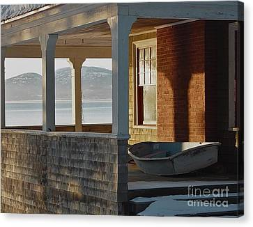 Waiting For Spring Canvas Print by Christopher Mace