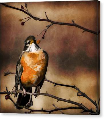 Waiting For Spring Canvas Print by Jordan Blackstone