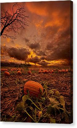 Waiting For The Great Pumpkin Canvas Print