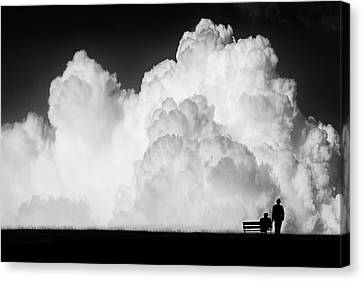Waiting For The Storm Canvas Print