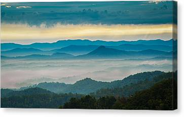 Canvas Print featuring the photograph Waiting For The Sun by Joye Ardyn Durham