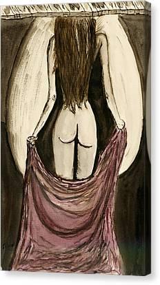 Waiting  For You..... Canvas Print by Shlomo Zangilevitch