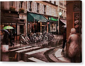 Waiting In The Bar For The Rain To Pass #2 Canvas Print