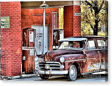 Waiting.... Canvas Print by Joe Russell
