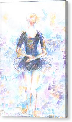 Waiting Canvas Print by Jovica Kostic