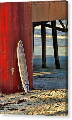 Waiting Canvas Print by Kenny Francis