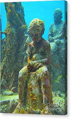 Waiting Patiently For The Coral To Grow Up Canvas Print by Halifax photographer John Malone