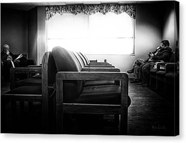 Waiting Room Canvas Print by Bob Orsillo