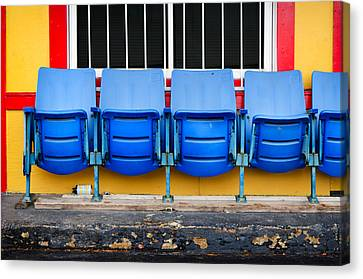 Nashville Tennessee Canvas Print - Urban Waiting Room by Steven Michael