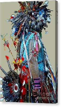 Southwest Canvas Print - Waiting To Dance by Linda  Parker