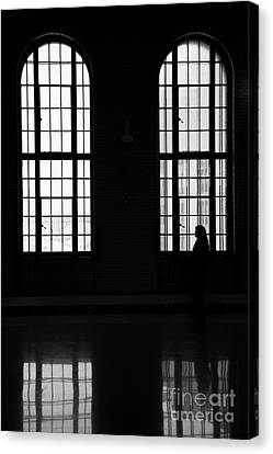 Waiting Canvas Print by Wayne Moran