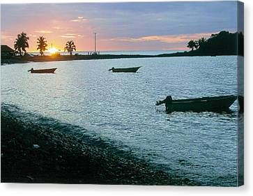 Waitukubuli Sunset Canvas Print