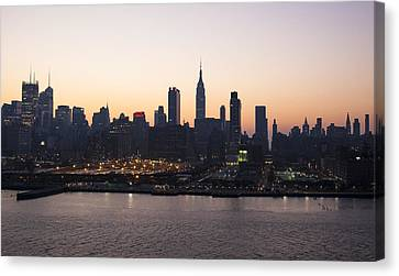Wake Up Big Apple Canvas Print