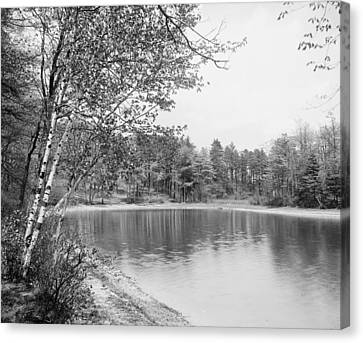 Walden Pond, C1905 Canvas Print by Granger