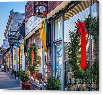 Walden Street In Concord Canvas Print by Susan Cole Kelly