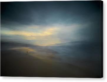 Walk Along The Edge Of Nowhere Canvas Print