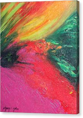 Walk Into Bliss Canvas Print by Ifeanyi C Oshun