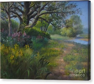 Walk Into Summer Canvas Print