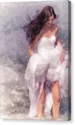 Walk Off The Earth Canvas Print