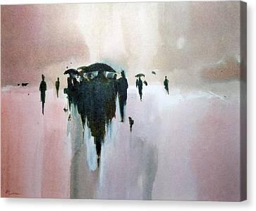 Walk To The Sun Canvas Print