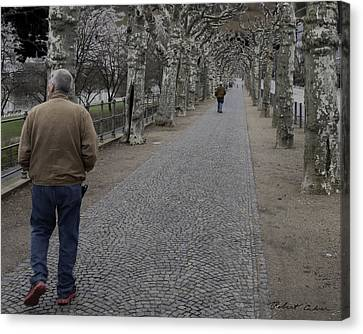 Canvas Print featuring the photograph Walk Under The Trees IIi by Robert Culver