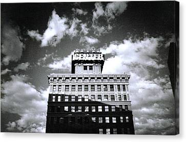 Walker Building Canvas Print