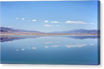 Walker Lake Mirror Canvas Print