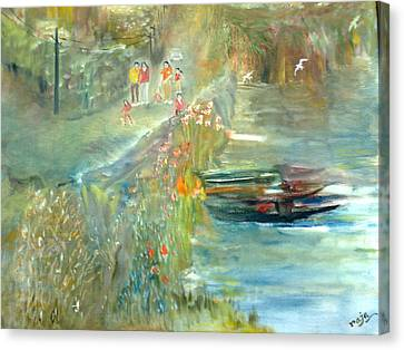 Walkers Canvas Print