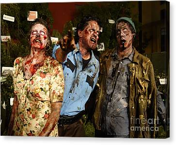 Walking Dead Canvas Print by Nina Prommer