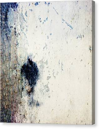 Walking In The Rain Canvas Print by Carol Leigh
