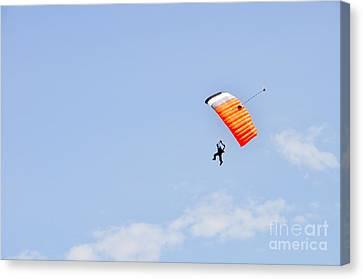Walking On Air Canvas Print