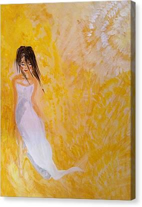 Walking On Sunshine Canvas Print