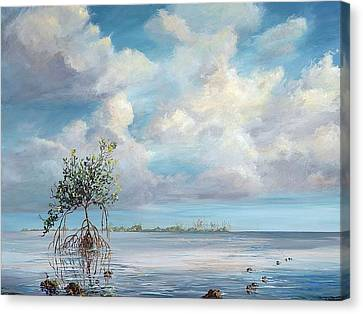 Walking Tree Canvas Print
