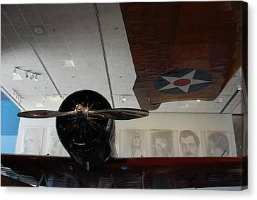 Wall Of Great Aviators Canvas Print