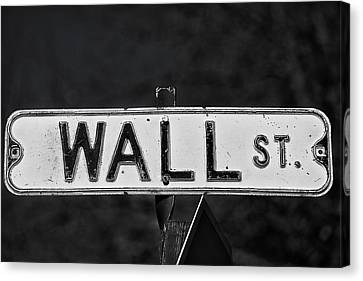 Wall Street Canvas Print by Karol Livote
