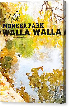 Walla Walla Canvas Print by Linda Woods