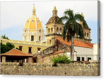 Walled Cathedrals Canvas Print