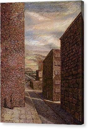 Wallman Revisited Canvas Print