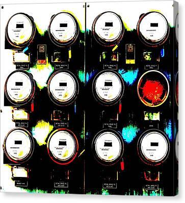 Wallometers I Canvas Print